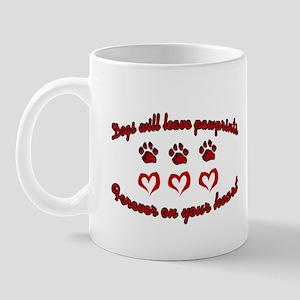 Dogs Leave Pawprints Mug