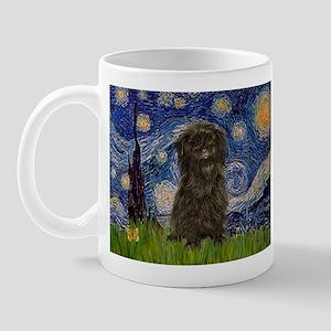 Starry Night / Affenpinscher Mug
