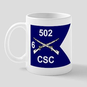 CSC 6/502nd Mug
