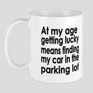 Over the Hill Getting Old Mug
