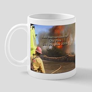 Old Fire Rim 2 LG Mugs