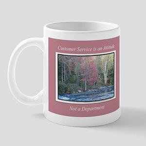 Customer Service Fall Mug
