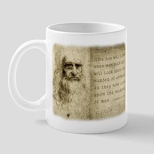Da Vinci Animal Quote Mug