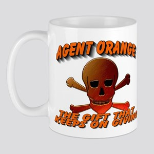 AGENT ORANGE SKULL Mug