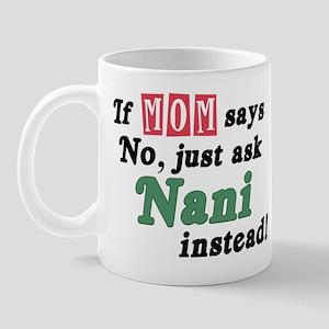 Just Ask Nani! Mug