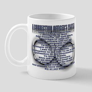 CORRECTION'S OFFICER PRAYER Mug