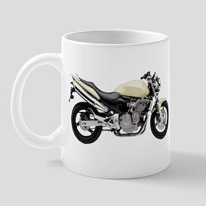 Honda 599 Motorbike Yellow Mug