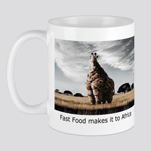 Fast Food in Africa Mug