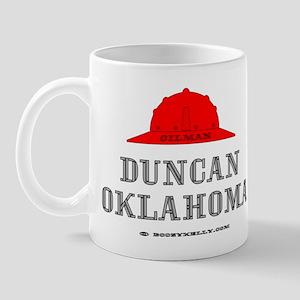 Duncan Oklahoma Mug