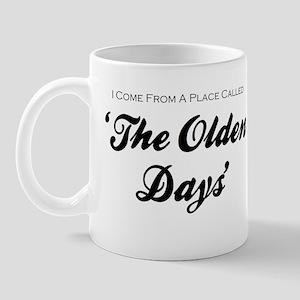 'Olden Days' Mug