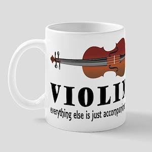Violin Humor Music Mug