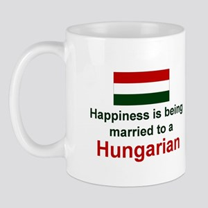 Happily Married To A Hungarian Mug