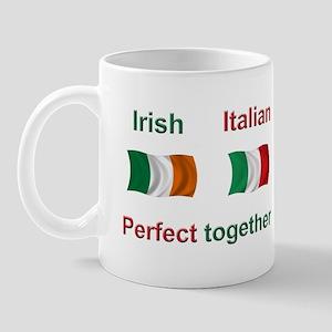 Italian Irish Together Mug
