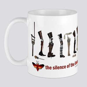 Silence of the Limbs Mug
