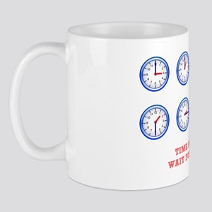 TIME AND TIDE - WAIT FOR NO MAN Mug