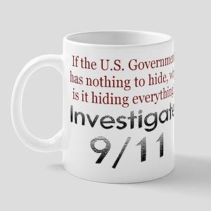Investigate 9/11 Mug