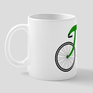 Pi Bike green Mug