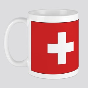 Switzerland Civil Ensign Mug