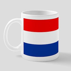 Dutch (Netherlands) Flag Mug