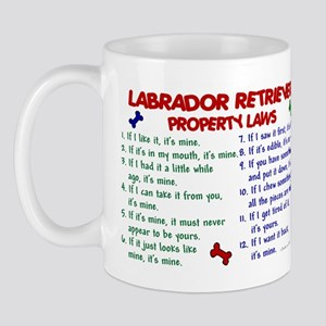 Labrador Retriever Property Laws 2 Mug