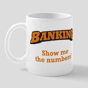 Banking / Numbers Mug