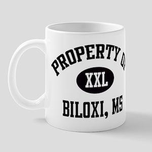 Property of Biloxi Mug