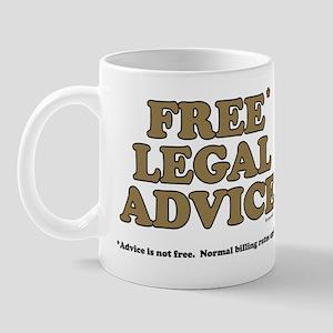 Free Legal Advice (2) Mug