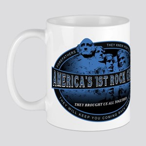Americas First Rock Group Mug