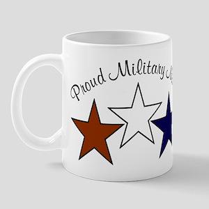 Proud Military Mom Patriotic Mug