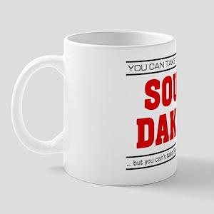 'Girl From South Dakota' Mug