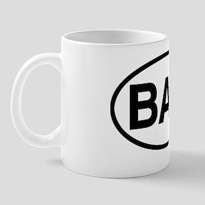 BaliOvalSticker Mug