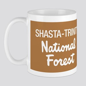 Shasta-Trinity National Forest (Sign) Mug