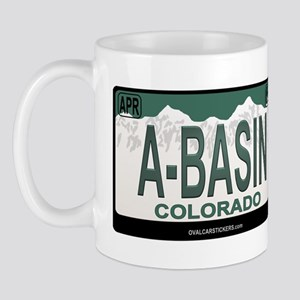 A-Basin Plate Mug