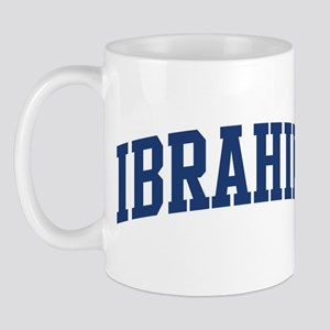 IBRAHIM design (blue) Mug