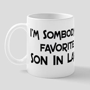 Favorite Son In Law Mug