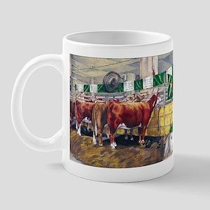 """Color of Money"" Hereford Mug"