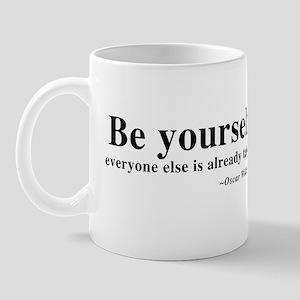 Oscar Wilde - Be Yourself Mug