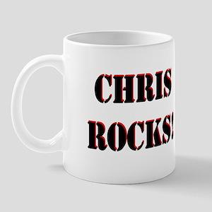 Chris Rocks (Black) Mug