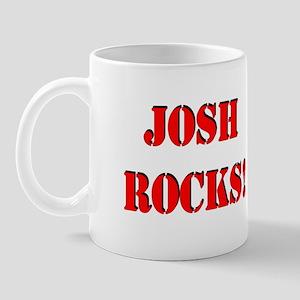 Josh Rocks (Red) Mug