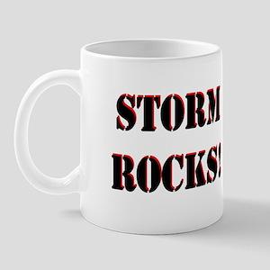 Storm Rocks (Black) Mug