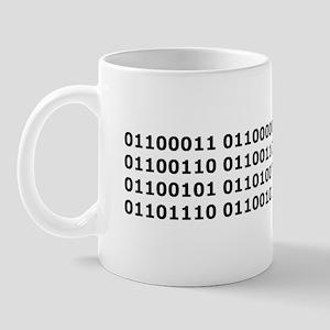 Binary Caffeine Mug