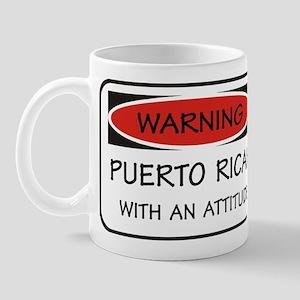 Attitude Puerto Rican Mug
