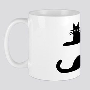 catsrectanglesticker Mug