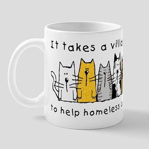 Takes a Village, Feral Cats Mug