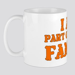 I am family - 10 inches Mug