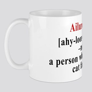 Ailurophile large car margnet Mug