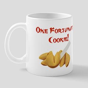 One Fortunate Cookie Fortune  Mug