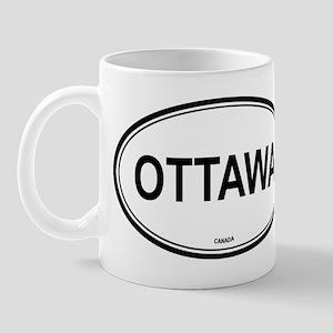 Ottawa, Canada euro Mug