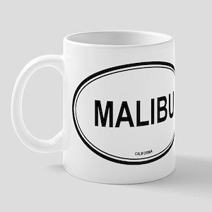 Malibu oval Mug