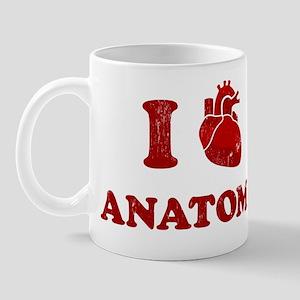 i love anatomy Mug